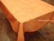 Mantel Antimanchas de Poliéster - Modelo UNICOLOR - Naranja