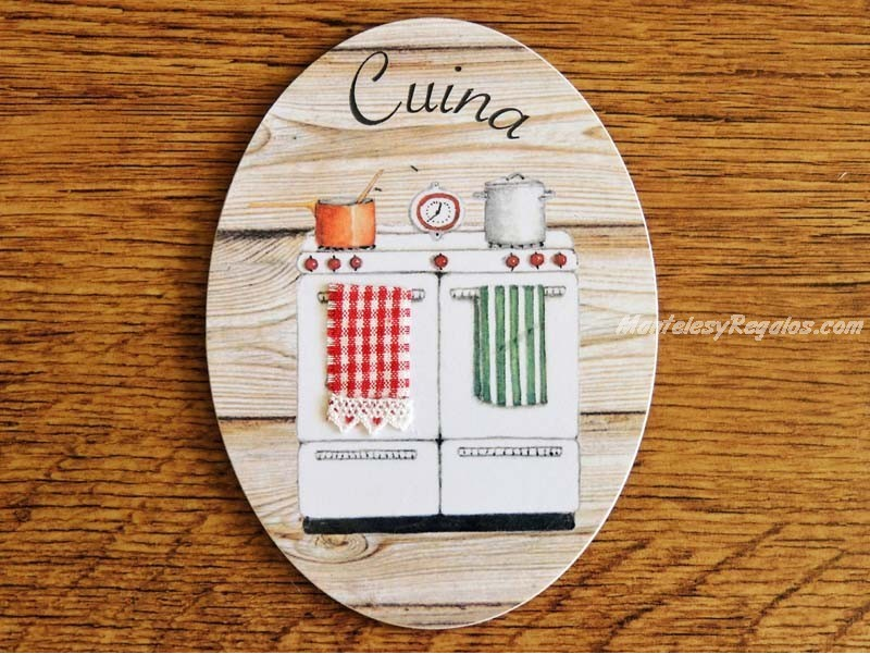 Preciosa placa para puertas de cocina con fogones de gas - Placa de cocina de gas ...