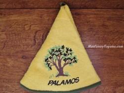 Paño de cocina - Modelo ÁRBOL PALAMÓS - Amarillo