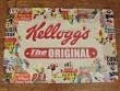 Placa metálica ORIGINAL KELLOGGS - 20 x 30 cm.