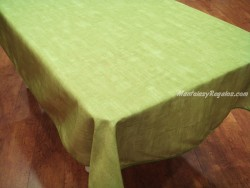 Mantel Antimanchas de Poliéster - Modelo LISO - Verde claro