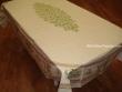 Mantel de Algodón Plastificado - Modelo CLOS DES OLIVIERS - Crema (Rectangular 2,50 x 1,60 mt.)