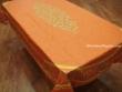 Mantel de Algodón Plastificado - Modelo CLOS DES OLIVIERS - Naranja (Rectangular 2,50 x 1,60 mt.)