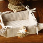 Panera de mesa cuadrada modelo Patos