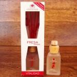 Difusor de perfume de Fresa y Caramelo - 100 ml.