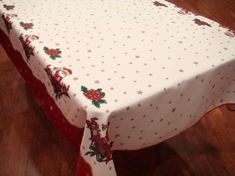 Viste tu mesa de gala con estos bonitos manteles navide os - Manteles navidenos ...
