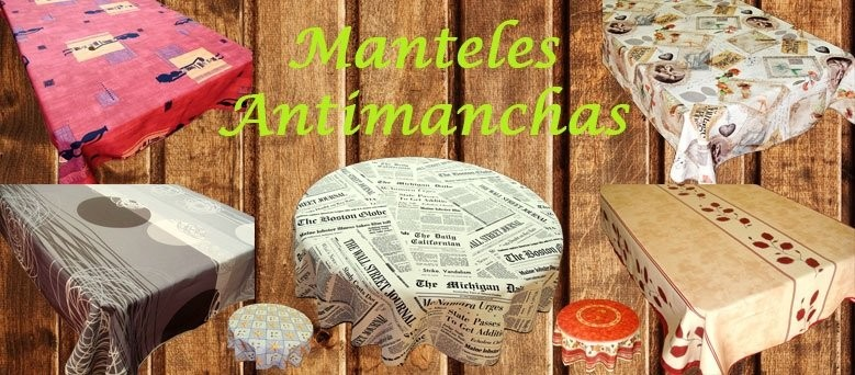 Manteles antimanchas